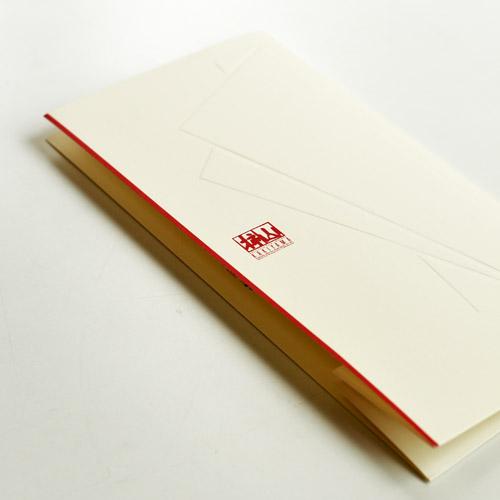 カタログでブランドイメージを表現