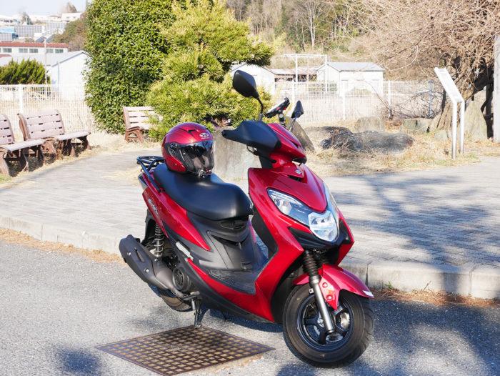 125ccスクーター納車